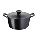 Jamie Oliver by Tefal Premium Cast Iron E2124614 24cm Stewpot - Matt Black