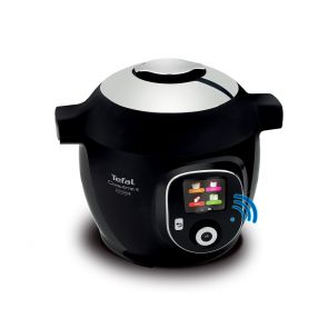 Cook4Me+ CY855840 Connected Electric Pressure Cooker - 6L Black / Chrome