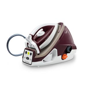 Pro Express GV7810 Anti-Scale Steam Generator Iron - Burgundy / White