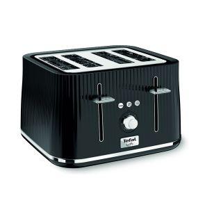 Loft TT760840 4-Slice Toaster - Noir Black