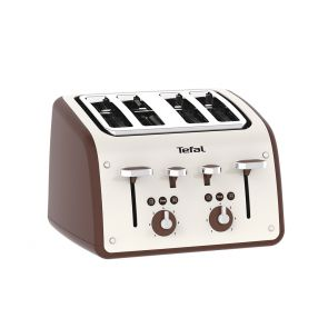 Retra TF700A40 4-Slice Toaster - Cream / Mokka