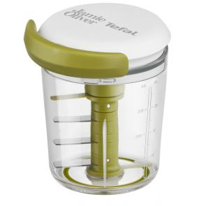 Jamie Oliver by Tefal K1644144 Multifunction Food Chopper - White/Green