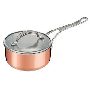 Jamie Oliver By Tefal Premium Copper E4902444 20cm Saucepan - Copper