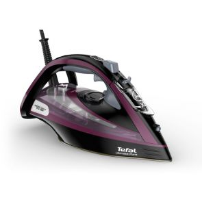 Tefal Ultimate Pure FV9830 Anti-scale Steam Iron - Black / Purple