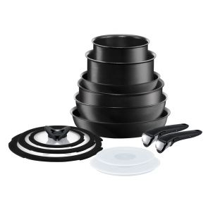 Ingenio Expertise L6509042 13-Piece Pan Set - Dark Grey