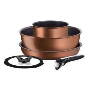 Ingenio Resource L6759522 5-Piece Pan Set - Copper