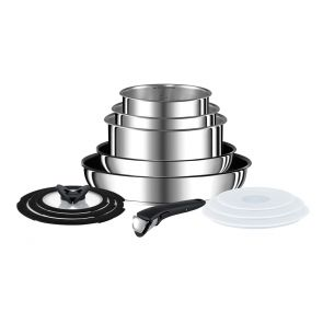 Ingenio Stainless Steel L9409042 13-Piece Pan Set - Stainless Steel