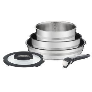 Jamie Oliver Ingenio  L9569032 5-piece Pan Set - Stainless Steel