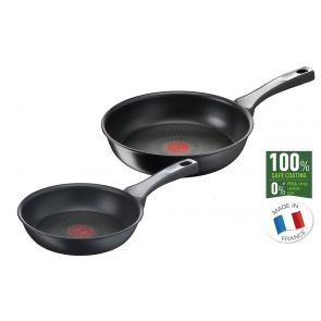 Unlimited ON G2599002 20/26cm Frying Pan Twin Set - Black