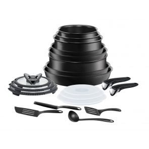 Ingenio Performance L6547802 20-Piece Pan Set - Dark Grey