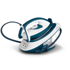 Tefal Express Compact SV7110 Steam Generator Iron - Teal / White