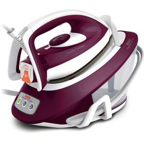 Tefal Express Compact SV7120 Anti-Scale Steam Generator Iron - Purple / White